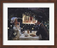 Dinner at Les Ambassadeurs Fine-Art Print