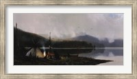 Visitors on the North Fork Fine-Art Print