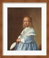 Little Girl in Blue Fine-Art Print