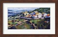 Hillside Village 16.5x25 Fine-Art Print