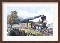 American Express Train Fine-Art Print