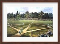 National Game of Baseball Fine-Art Print