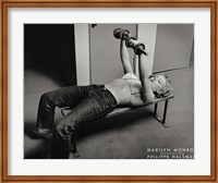 Marilyn Monroe, Hollywood (with weights), c.1952 Fine-Art Print
