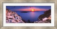 Sunset in the Mediterranean Fine-Art Print