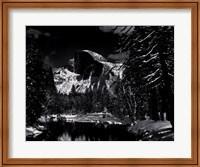 Half Dome, Merced River, Winter Fine-Art Print