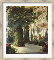 Interior of a Palm House Fine-Art Print