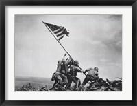 Flag Raising on Iwo Jima, February 23, 1945 Fine-Art Print