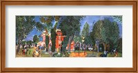 Paddock At Deauville Fine-Art Print