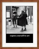 Expose Yourself to Art Fine-Art Print