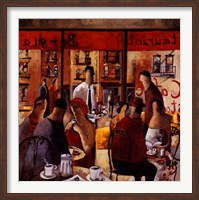Cafe New York Fine-Art Print