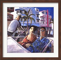 Cruising in Miami Fine-Art Print