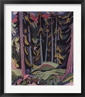 Forest with Brook Fine-Art Print