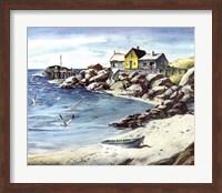 Surf Sand and Rocks Fine-Art Print
