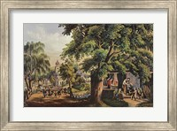 Village Blacksmith Fine-Art Print