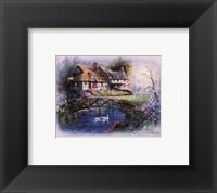 Coutnry Cottages - bridge Fine-Art Print