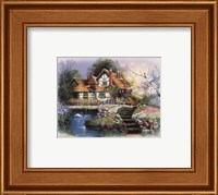 Coutnry Cottages Fine-Art Print