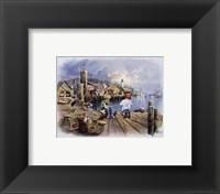 Fishing Docks Fine-Art Print