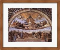 Dispute at the Eucharist Fine-Art Print