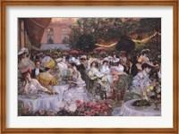 Georges Jeanniot - Le Diner A' L'Hotel Ritz Fine-Art Print