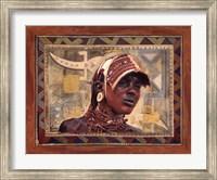 African Warrior I Fine-Art Print