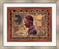 African Warrior II Fine-Art Print