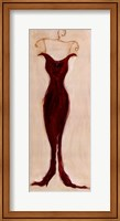 Red Evening Gown Fine-Art Print