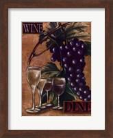 Wine and Dine I Fine-Art Print