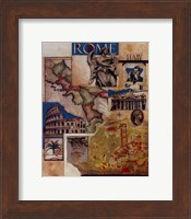 Rome Collage Fine-Art Print