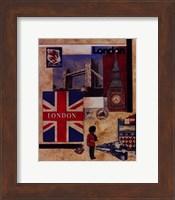London Collage Fine-Art Print