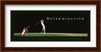 Determination-Golfer Fine-Art Print