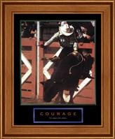 Courage-Bull Rider Fine-Art Print