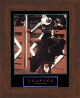 Courage-Bull Rider Fine-Art Print