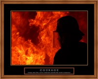 Courage - Fireman Fine-Art Print