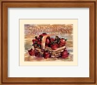 Fruit Stand Strawberries Fine-Art Print