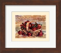 Fruit Stand Strawberries Fine-Art Print