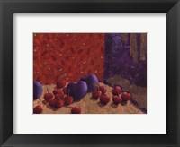 Plums and Cherries I Fine-Art Print