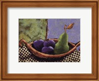Plums and Pears II Fine-Art Print