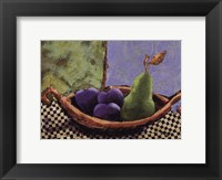 Plums and Pears II Fine-Art Print