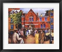 City Church Gathering Fine-Art Print