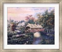 Pheasant River Bridge Fine-Art Print