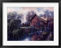 Willow Creek Mill Fine-Art Print
