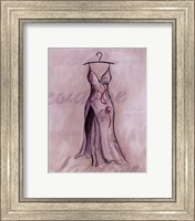 Gray Gown Fine-Art Print