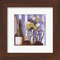 Wine and Flowers I Fine-Art Print