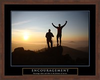 Encouragement - Climbers Fine-Art Print