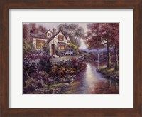 Crystal Streams Bungalow Fine-Art Print