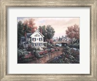 Vintage Island Home Fine-Art Print