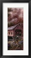 Razzberry Creek Panel I Fine-Art Print