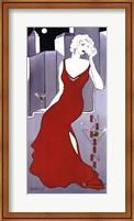 La Dame En Rouge Fine-Art Print