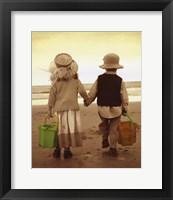 Beach Stroll Fine-Art Print