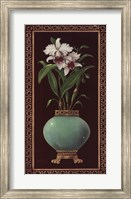 Ginger Jar With Orchids II Fine-Art Print